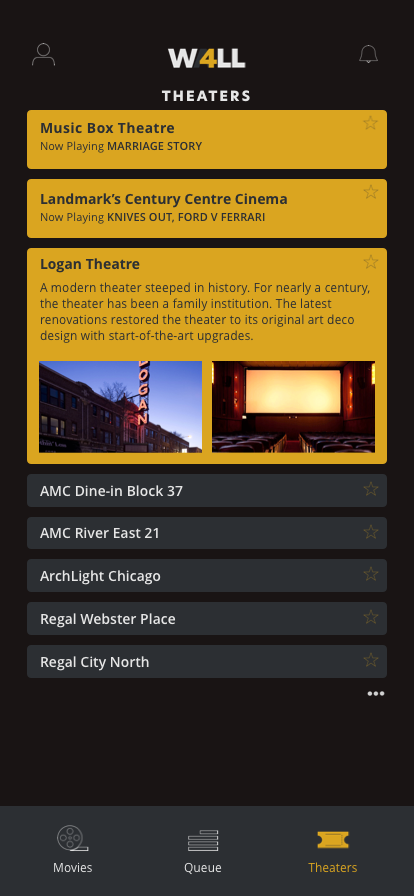 Theaters – Expanded